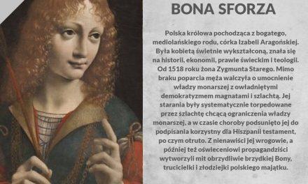 Postać nailustracji toniejest Bona Sforza