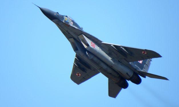 Polski myśliwiec ostrzelany? Dowództwo Sił Zbrojnych dementuje