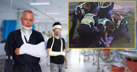 Australijskie szpitale pełne osób pobitych przezpolicję zanienoszenie maseczek? Sprawdzamy